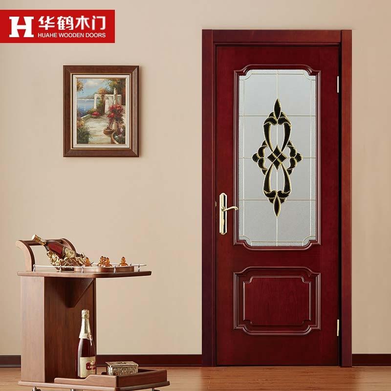 华鹤木门实木复合烤漆门w-hx124室内门